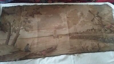 Vintage , large dutch traditional tapestry