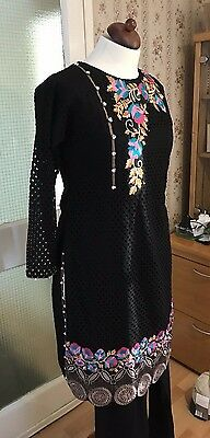 Asian Ready Made Suit In Sizes S M L Xl Free Ship Uk Great Designs