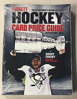 2017 Beckett Hockey Annual Price Guide - QTY AVAIL - FREE SHIP