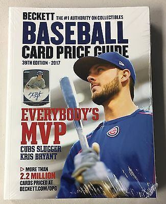 2017 Beckett Baseball Annual Price Guide - QTY AVAIL - FREE SHIP