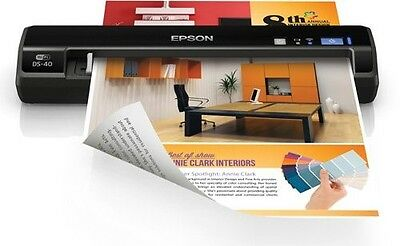 Epson WorkForce DS-40 Wireless Portable Document Scanner for PC and Mac