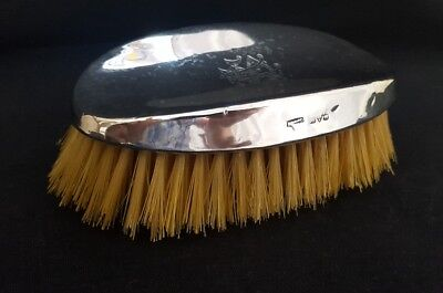 solid silver brush possibly Liberty & co
