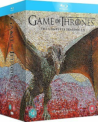 GAME OF THRONES Seasons 1-6 [Blu-ray Box Set] The Complete HBO TV Series - NEW!!