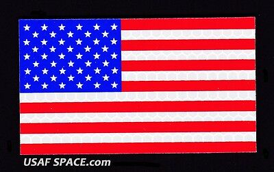 AUTHENTIC US MILITARY IR INFRARED REFLECTIVE Forward FULL COLOR US FLAG  PATCH