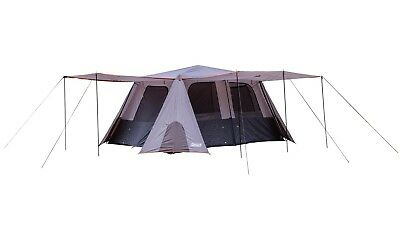 Coleman 10 Person Instant Up Full Fly Tent - Shade & Protection in Under 2 Mins