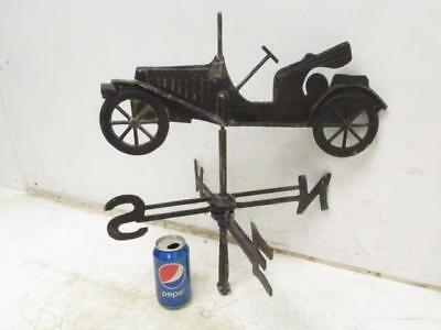 Antique Vintage Cast Aluminum Automobile Car Directional Weather Vane