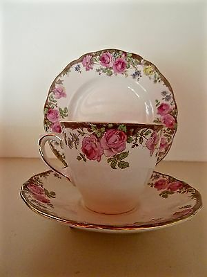 Royal Doulton English Rose D6071 Trio Excellent Condition 8 Available