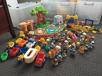 75 Pieces Fisher Price Little People