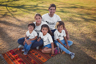 Family Shirts Matching Mommy Daddy Big Little Brother Sister Tees Fathers Day