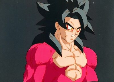 Dragon ball Z SSJ4 Goku Original Production Animation Cel Anime Super Sayain 4