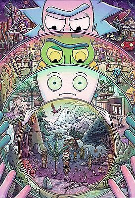 Rick And Morty TV Animation Digital RAM05 A3 A4 POSTER ART PRINT BUY2 GET 1 FREE