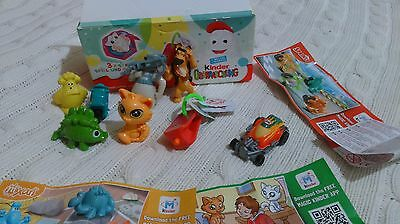 KINDER SURPRISE TOYS + 2 extra toys from Kinder
