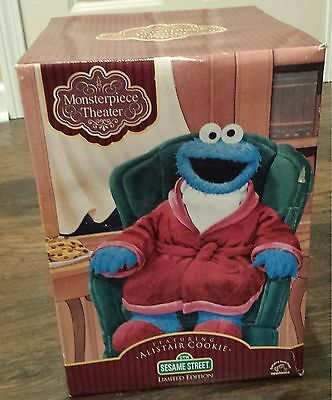 VERY RARE Monster Piece Theater Sesame Street Cookie Monster #elmo #collectible
