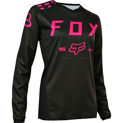 Fox Youth Girls 180 Jersey Blk/pnk 2017 Youth Large