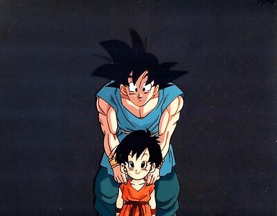 Dragon ball Z Goku Pan-chan Cute Original Production Animation Cel Anime Grampy