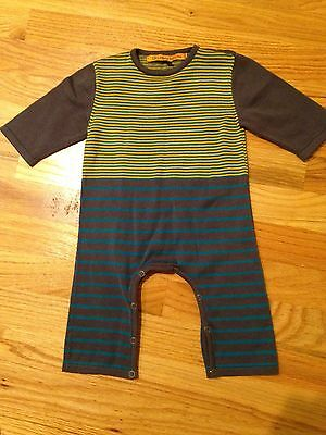 EEUC - 3-6 Months BOUTIQUE Laughing Out Loud One-piece Romper PIMA COTTON