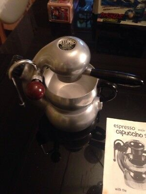 atomic coffee Cappuccino Espresso Maker Original Amazing Condition Manuel