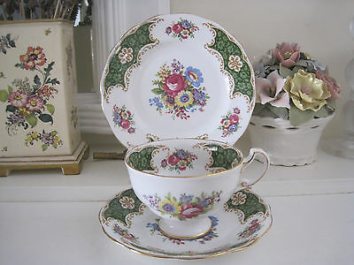 Gorgeous Vintage Royal Standard Fine Bone China Trio