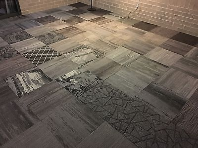 New Mix N Match Commercial carpet tiles at only $6.00 per SQM,60sqm for $360.00