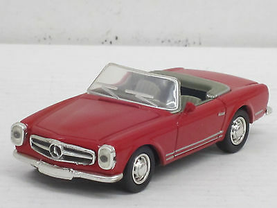 mercedes benz 190 sl cabrio in rot o ovp minichamps 1. Black Bedroom Furniture Sets. Home Design Ideas