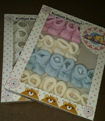 21 pairs wholesale baby booties Soft Touch Newborn