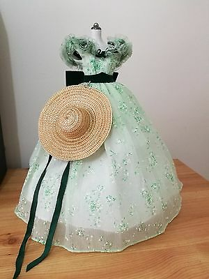 Franklin Mint - Scarlett O'Hara (BBQ at Twelve Oaks) Outfit