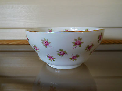 "Hammersley ""Bridal Rose"" Sugar Bowl 4049T Longton England 1930s"