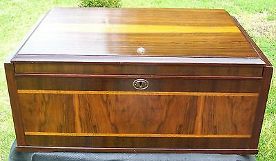 "Vintage Stromberg radiogram, ""Bread Box"", model 54A12, good looking and working."