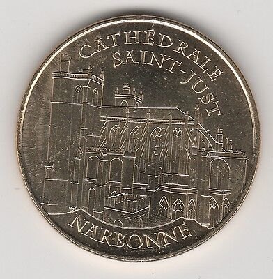 A 2012 Token Medaille Souvenir Mdp -- 11 100 N°1 Cathedrale Saint-Just Narbonne