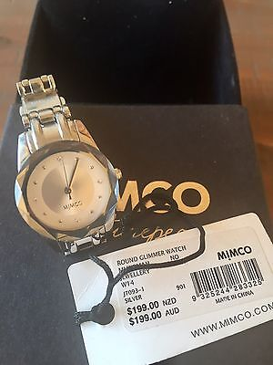 Silver Mimco Glimmer Watch NWT