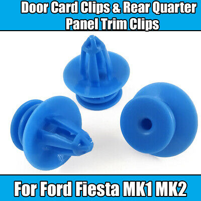 50x Ford Door Card Clips Fiesta MK4 1020732 Ka Plastic Trim Clips for Puma