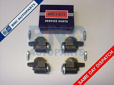 Front Brake Wheel Cylinder set of 4 for MGA from 1955 to 1962 - Borg & Beck