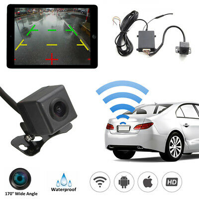 170° Wireless WiFi Car Rear View Backup Reversing Parking Camera For Android IOS