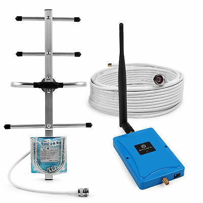 700MHz 70dB Signal Booster Amplifier Extender 4G LTE with Yagi Antenna for Home