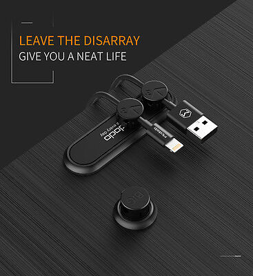 Mcdodo Magnetic Cable Clip Organizer Wire Cord Management Winder Line Holder