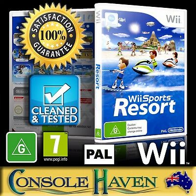 (Wii Game) Wii Sports Resort (for MotionPlus / Remote Plus) (G) (12 Sports) PAL