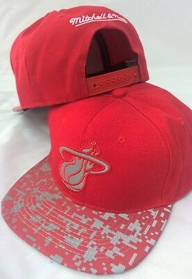 Miami Heat NBA Snapback Baseball Cap Mitchell & Ness - Retro Peak