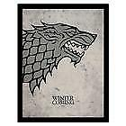 Game Of Thrones Framed Print Stark 16 x 12