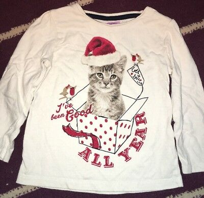 F&F Cat Christmas Top (12-18 Months)
