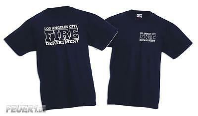 Kinder T-Shirt navy, Los Angeles City Fire Department