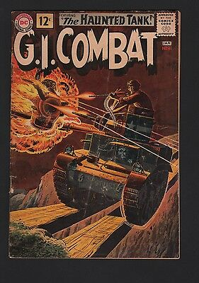G.I. Combat #91 G 2.0 Cream to Off White Pages 1st Haunted Tank Cover