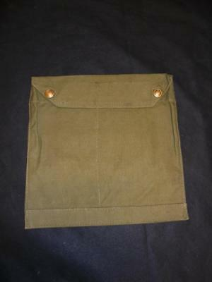 WWII British Military Army Gas Mask Bag External Sew On Eye Shield Sleeves? 1940