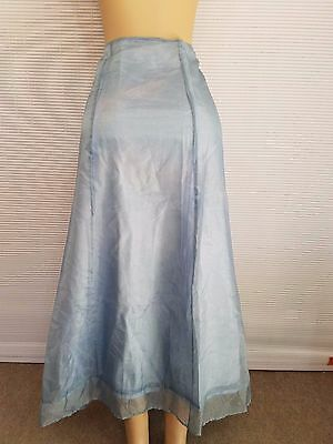 Apostrophe Women's Full Length Blue Formal Style Layered Skirt Size 20W