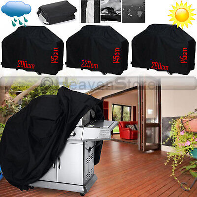 Heavy Duty BBQ Grill Barbecue Covers Garden Patio Protector Outdoor Waterproof