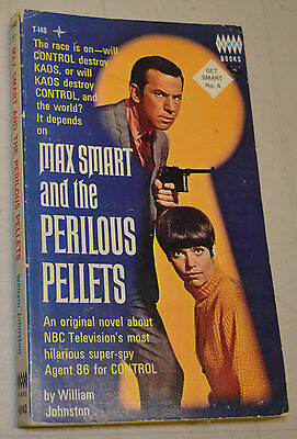 Get Smart No 4 Tempo Books 1966 TV and Movie Tie In Maxwell Smart PB