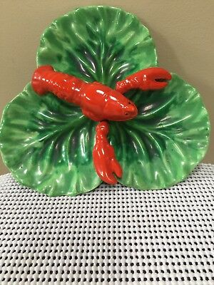 Vintage Lobster Dish  In Mint Condition