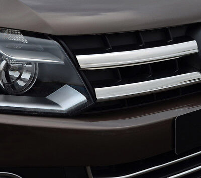 Full Chrome Grille Accent Trim Set Covers To Fit Volkswagen Amarok (10-16)