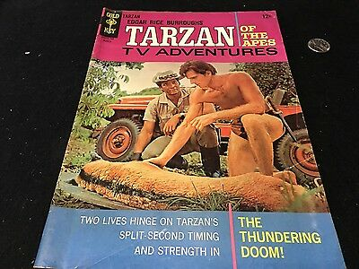 Tarzan   # 165 Gold Key   Ron Ely On Cover