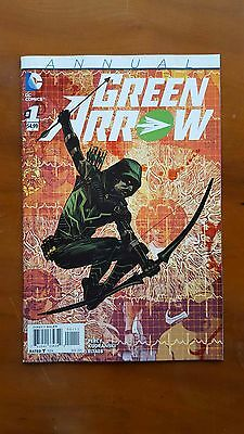 Green Arrow Annual #1 - Dc Comics New 52