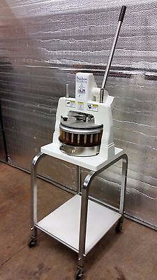 Dutchess Dough Divider BMIH 36 Part excellent with pan, cart, and undershelf